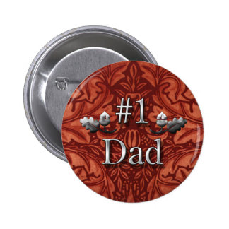 Number One Dad Pin for Father's Day