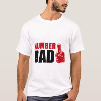 Number One Dad T-Shirt | #1 Father Tee