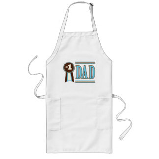 Number One Dad's Father's Day Apron