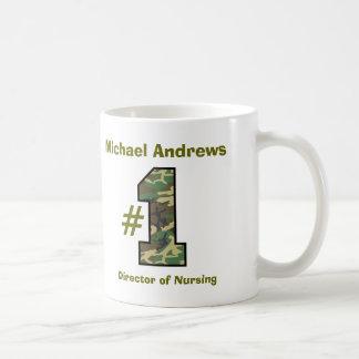 Number One Director of Nursing V58 Coffee Mug
