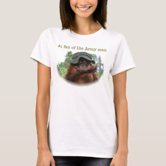 Number One Fan of the Army man T-Shirt