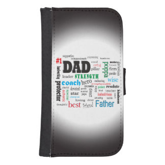 Number One Father Word Cloud
