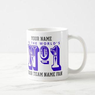 Number One Football Fan Coffee Mug