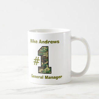Number One General Manager V18 Coffee Mug