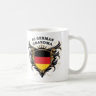 Number One German Grandma Basic White Mug