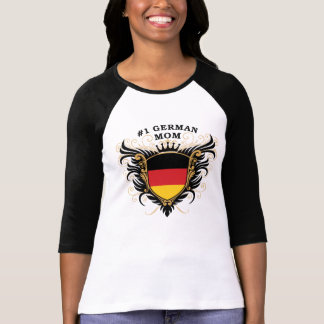 Number One German Mom T-Shirt