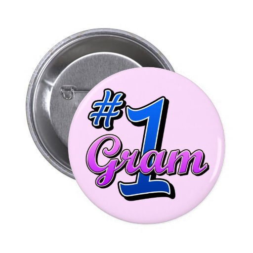 Number One Gram Pins