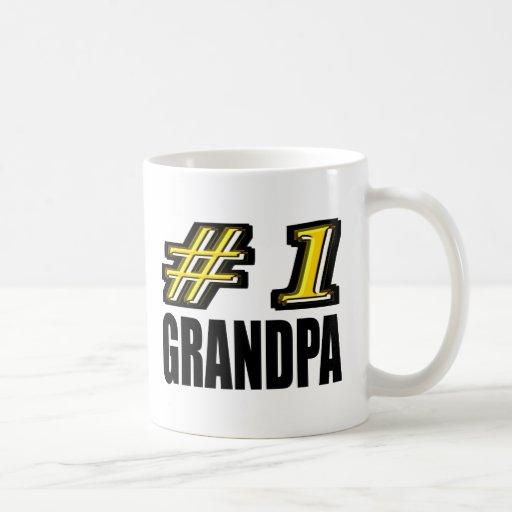 Number One Grandpa Mugs