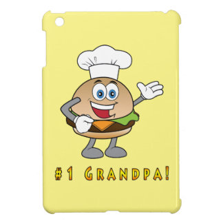 Number One Grandpa with Cheeseburger iPad Mini Case