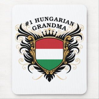 Number One Hungarian Grandma Mouse Pad