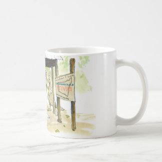 number one icon basic white mug