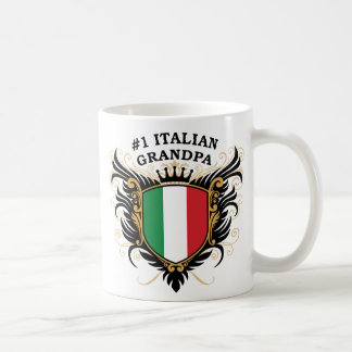 Number One Italian Grandpa Mugs