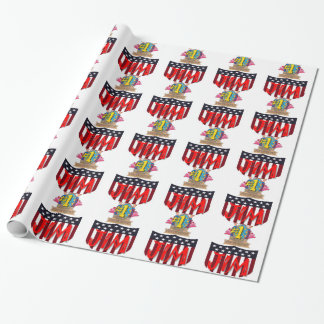 Number One jim Wrapping Paper
