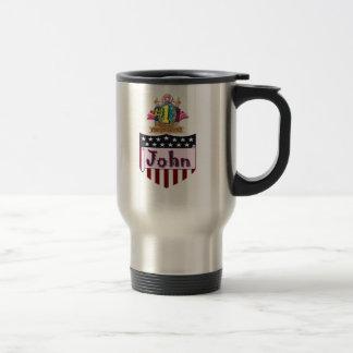 Number One John Travel Mug