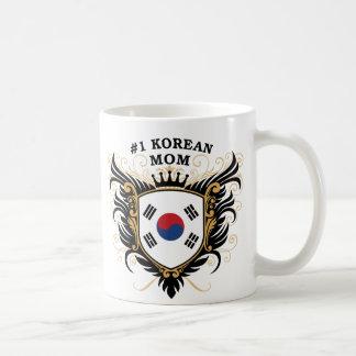 Number One Korean Mom Basic White Mug