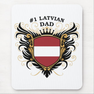 Number One Latvian Dad Mouse Pad