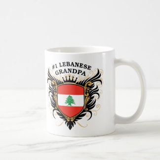 Number One Lebanese Grandpa Mug