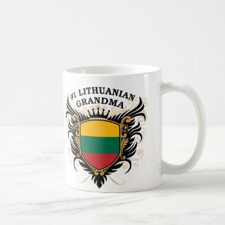 Number One Lithuanian Grandma Coffee Mug
