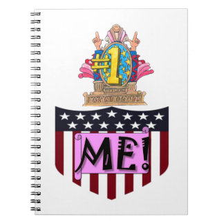 Number One Me Spiral Notebook