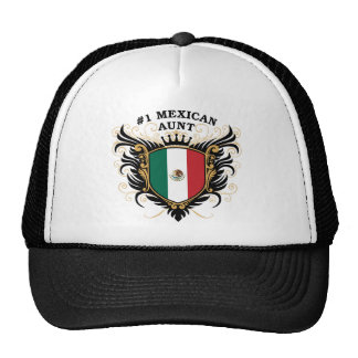Number One Mexican Aunt Mesh Hats
