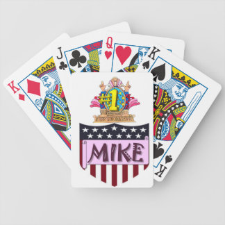 Number One Mike Poker Deck