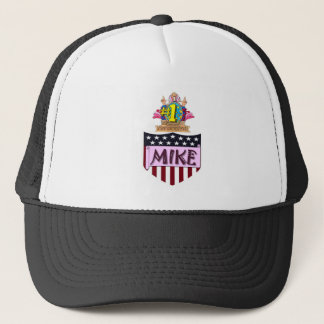 Number One Mike Trucker Hat