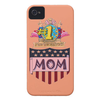 Number One Mom Case-Mate iPhone 4 Case