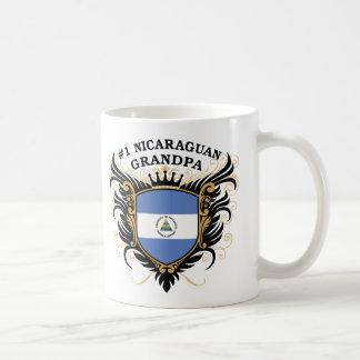 Number One Nicaraguan Grandpa Basic White Mug