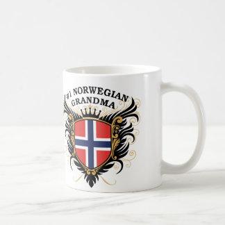 Number One Norwegian Grandma Basic White Mug
