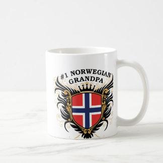 Number One Norwegian Grandpa Mug