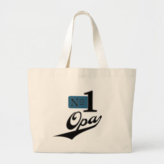 Number One Opa Tote Bag