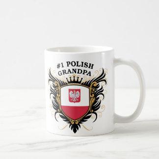 Number One Polish Grandpa Coffee Mug