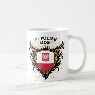 Number One Polish Mom Mug