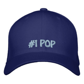 Number One Pop Hat Embroidered Cap