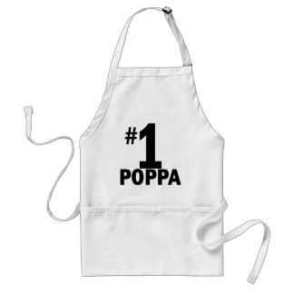 Number One Poppa Products Standard Apron