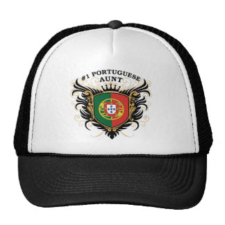 Number One Portuguese Aunt Mesh Hats