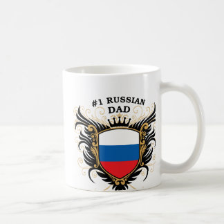 Number One Russian Dad Mug