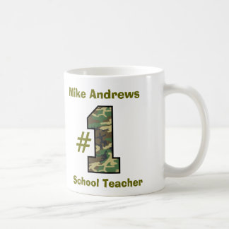 Number One School Teacher or Any Specialty V27 Basic White Mug