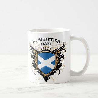 Number One Scottish Dad Coffee Mug