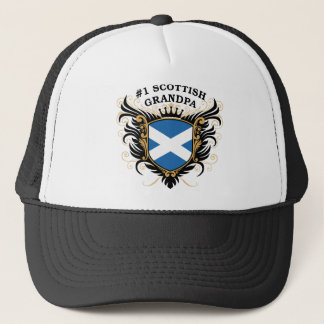 Number One Scottish Grandpa Trucker Hat
