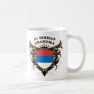 Number One Serbian Grandma Coffee Mug