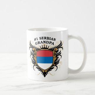 Number One Serbian Grandpa Coffee Mug