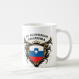 Number One Slovenian Grandma Coffee Mugs