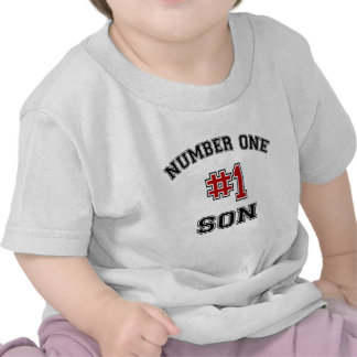 Number One Son T Shirt