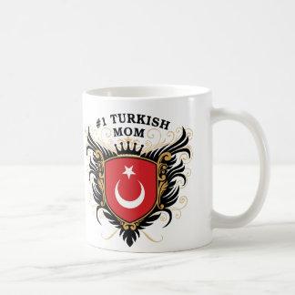 Number One Turkish Mom Basic White Mug