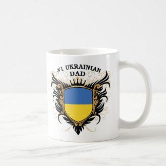 Number One Ukrainian Dad Basic White Mug