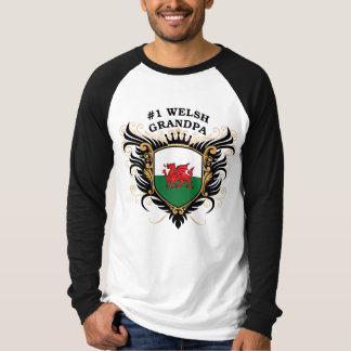 Number One Welsh Grandpa T-Shirt