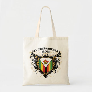 Number One Zimbabwean Mom Tote Bag