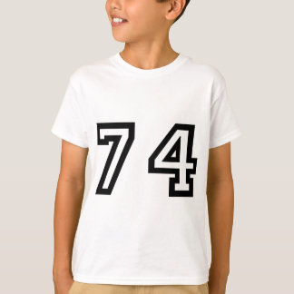 Number Seventy Four T-Shirt