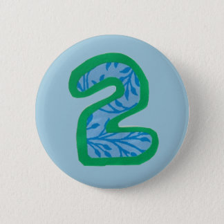 Number Two Button